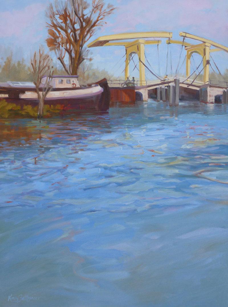 Kay-Zetlmaier-Dutch-Draw-Bridge-24x18-oil