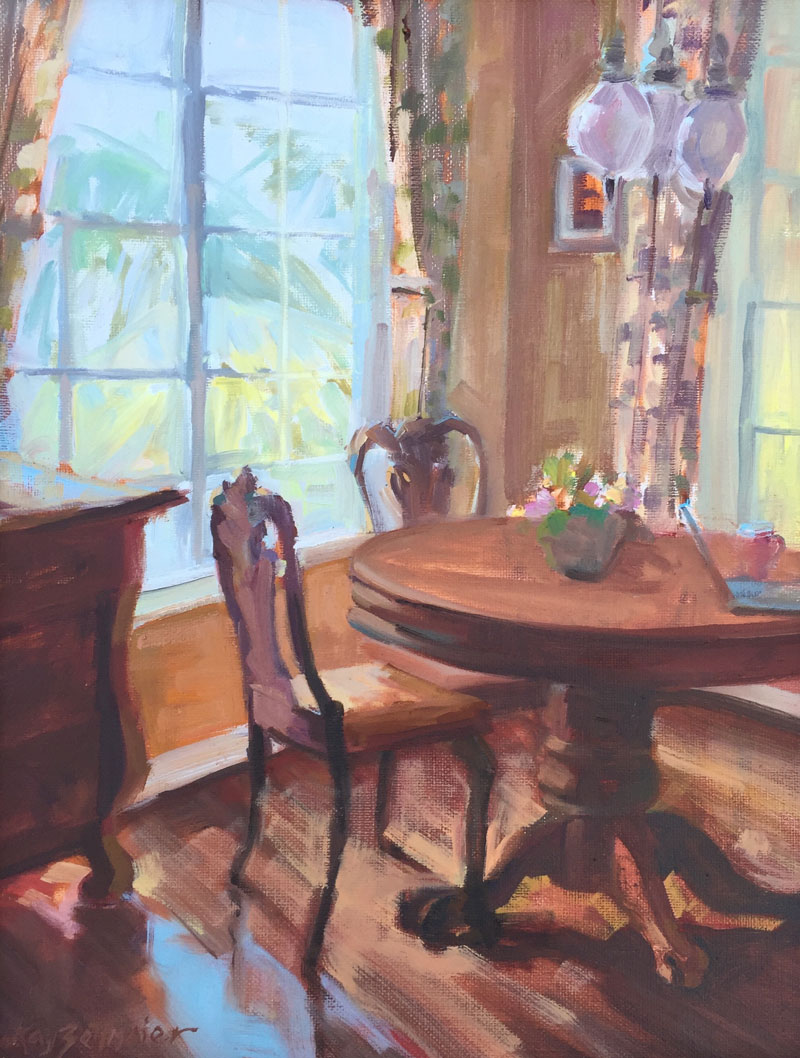 Kay-Zetlmaier-Morning-Light-at-Teri's-14x11-oil