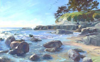 California Coastline Exhibit at Fox Fine Jewelery