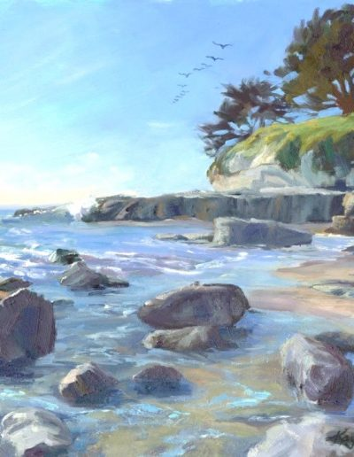Kay-Zetlmaier-Capitola-Beach-11x14-oil