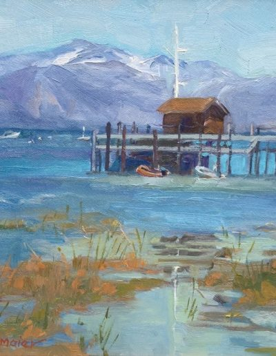 Kay-Zetlmaier-Lake-Tahoe-11x14-oil