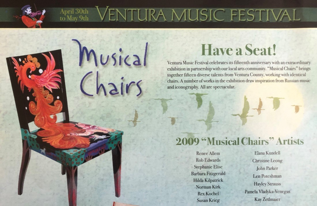 """Musical Chairs"" event with the Ventura Music Festival"